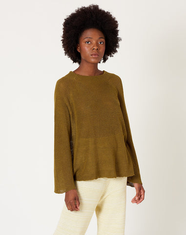 Pollie Sweater in Olive