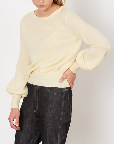 Prescott Sweater in Yellow