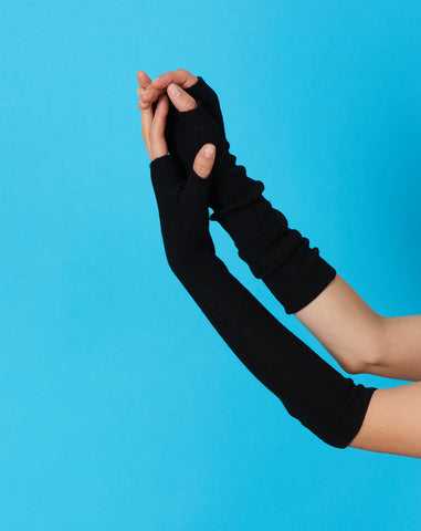 Regi Arm Warmer in Black