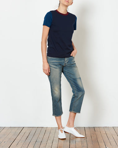 Runa Top in Navy Combo