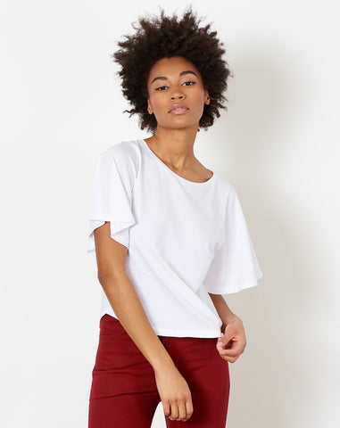 Sellina Top in White