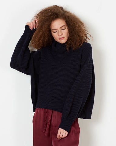 Tillie Sweater in Navy