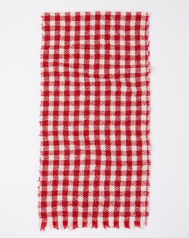 Buddy Scarf in Red and White