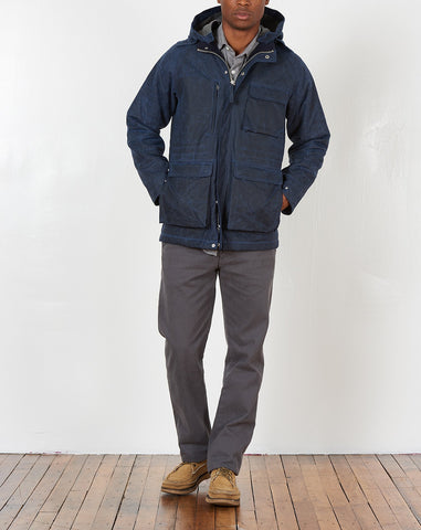 Isle Of Man Jacket in Navy