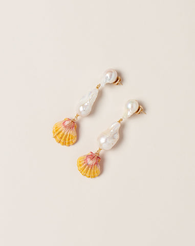 Sunrise Kingdom Drop Earrings