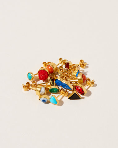 Mismatched Single Stud Earring