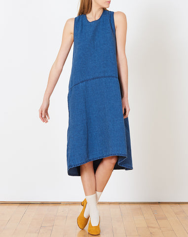 Lyon Dress in Indigo