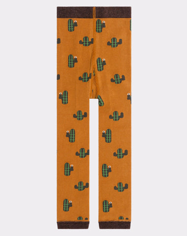 Mini Cacti 2 Legging in Mustard