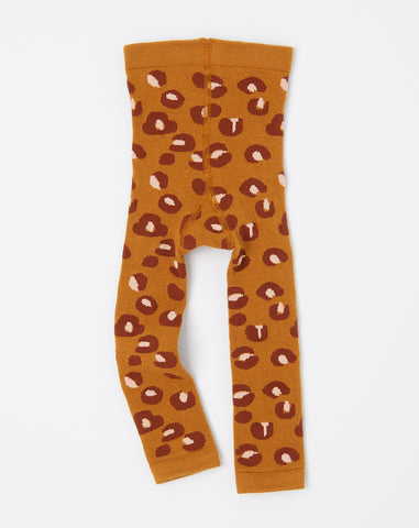 Mini Cheetah Legging in Ochre