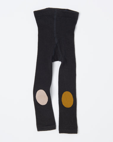 New Knees Legging in Charcoal