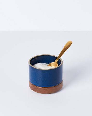 Sugar Pot in Gloss Blue