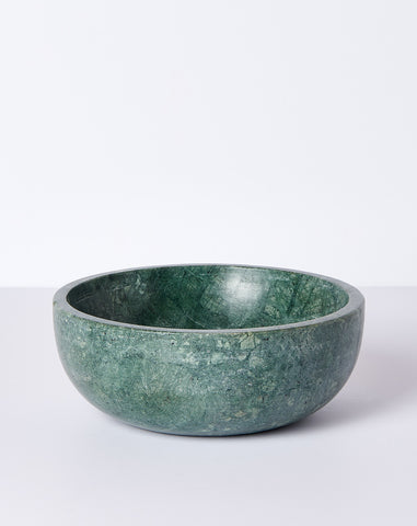 Green Marble Large Bowl
