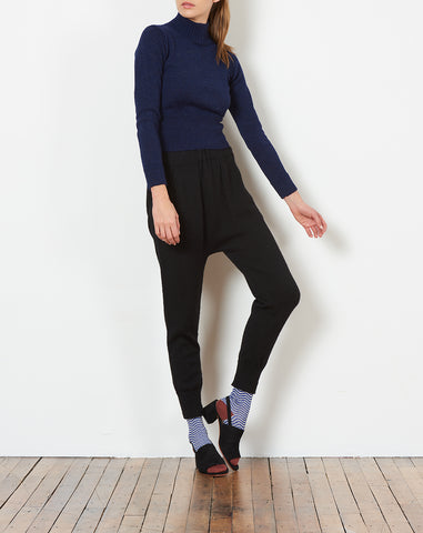 Astrid Sweater in Navy Blue