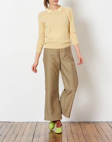 Everdine Sweater in Straw Yellow