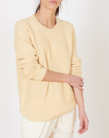 Faro Unisex Pullover in Straw Yellow