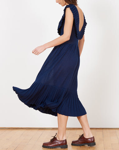 Florence Dress in Eclipse Blue