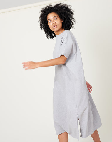 T-Shirt Dress in Grey