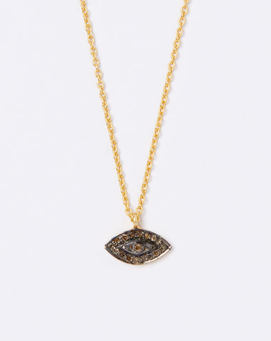 Nazar Diamond Eye Pendant