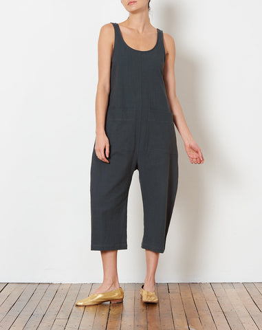 Gary Jumpsuit in Coal
