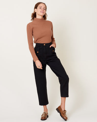 Huxie Pant in Black