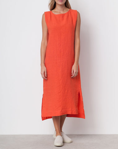 Ilana Kohn Kate Maxi in Persimmon Linen