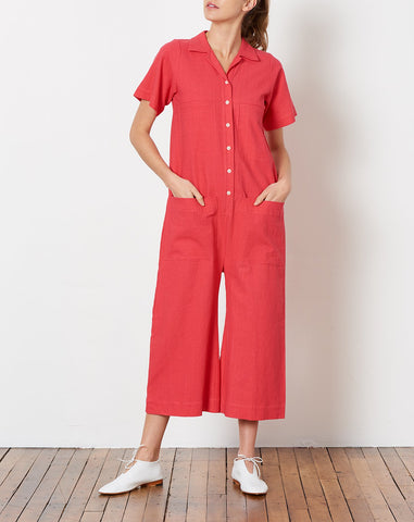 Mabel Coverall in Punch