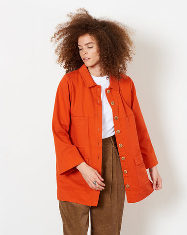 Mabel Jacket in Pepper