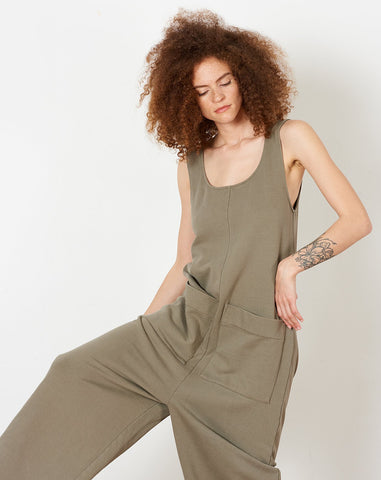 Wendy Jumpsuit in Peat