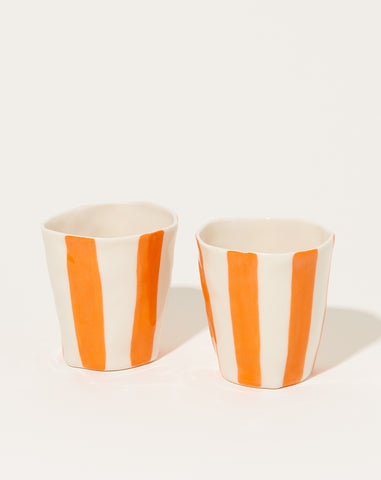 Wine Cup in Orange