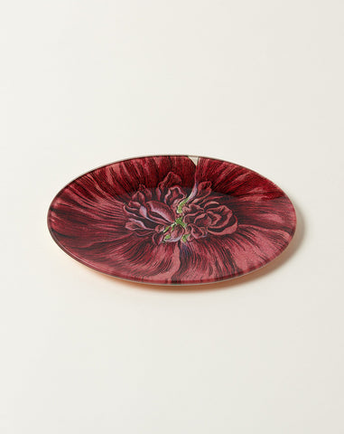 Malva Major Oval Plate