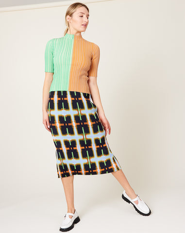 Ekke Skirt in Lukasz