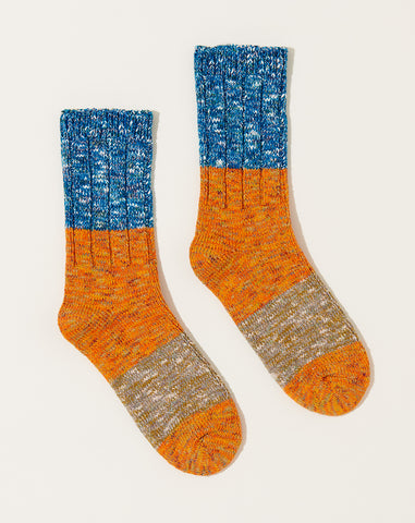 Gogh Stretch Socks in Orange