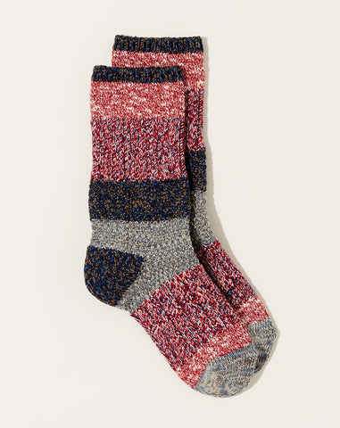 Kogin Grandrelle Socks in Red