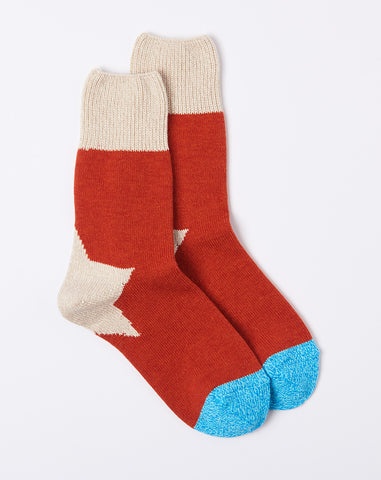 Apolo Socks in Red