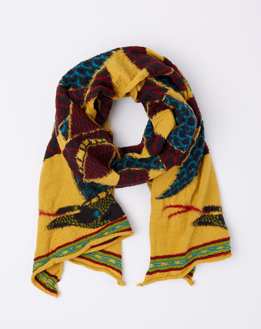 Cobras Scarf in Gold