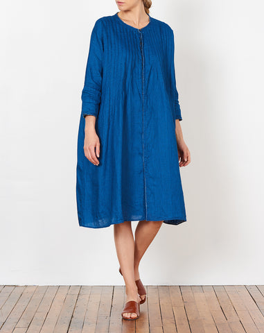 Okeef Pinuck Dress in Indigo
