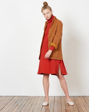 Tweed Kobe Jacket in Orange