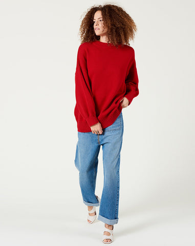 Arc Jumper in Red