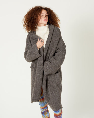 Capote Coat in Barnwood