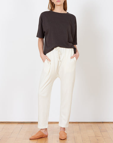 Cashmere Arch Sweats in Bleach
