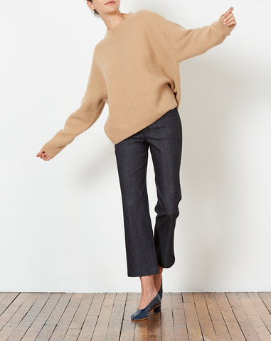 Cashmere Crewneck in Honey