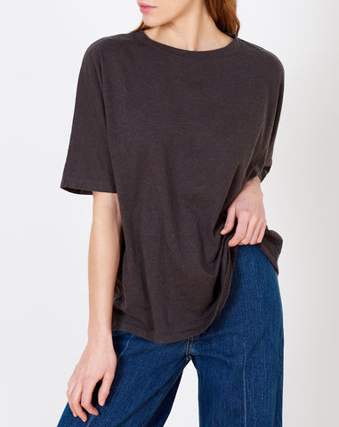 Dolman Tee in Carbon