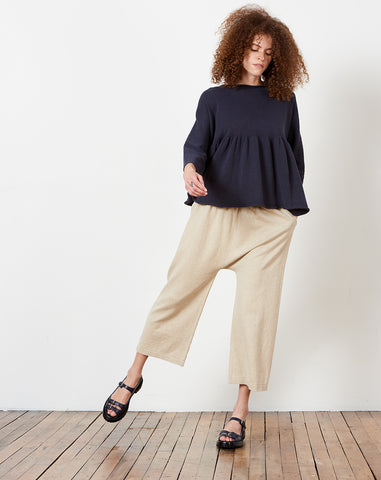 Peg Pants in Natural