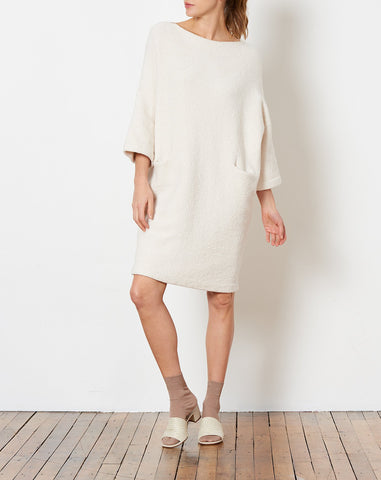New Trapezoid Dress in Sheep