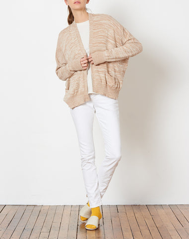Normal Cardigan in Bisque and Crudo
