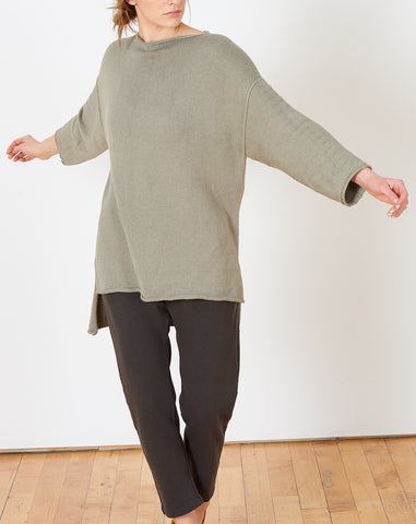 Oversize Boatneck in Clay