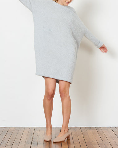 Trapezoid Dress in Overcast
