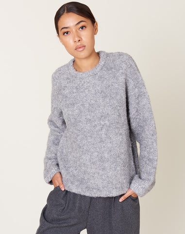 Envie Sweater in Heather Grey