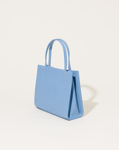 Petite Shopper Bag in French Blue