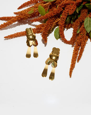 Groovy Gold Earrings